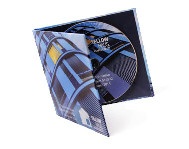 Custom printed CDs and DVD cases